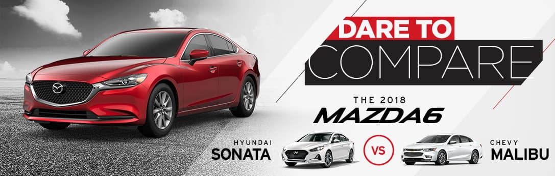 Mazda6 vs Sonata vs Malibu
