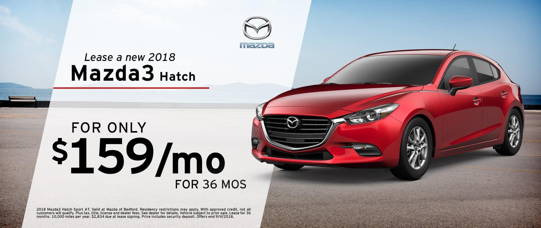 Mazda3 Hatch | Mazda of Bedford