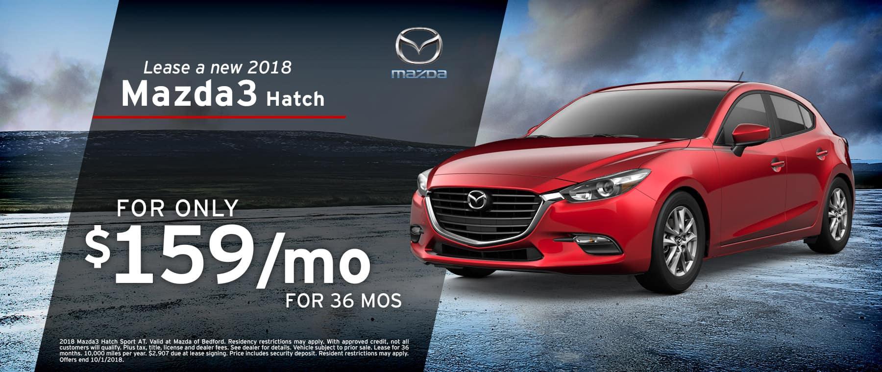 2018 Mazda3 Hatch