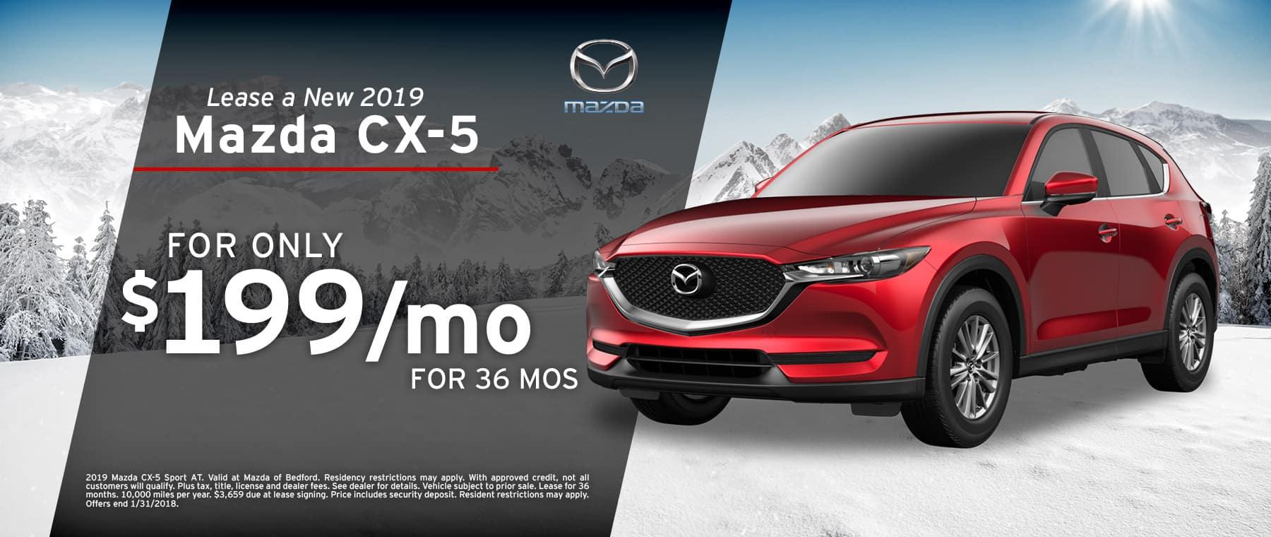 2019 Mazda CX-5 Lease Offer