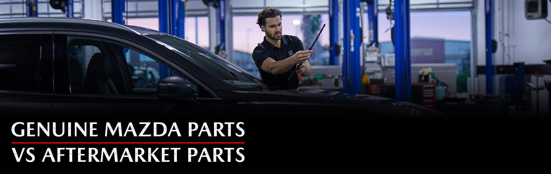 Compare Genuine Mazda Parts to aftermarket parts at Mazda of Bedford in Cleveland, Ohio