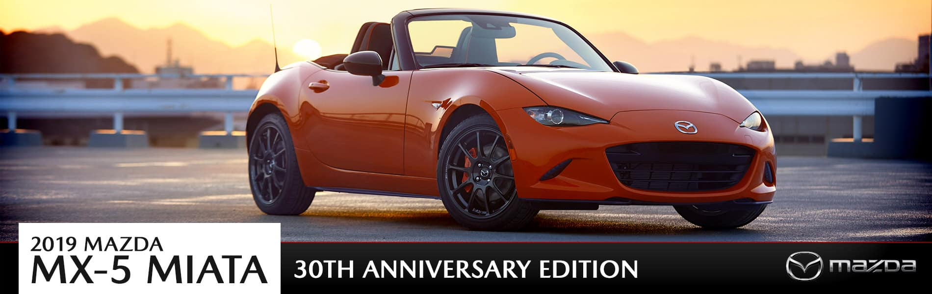 The 2019 Mazda MX-5 Miata 30th Anniversary hits the road soon in Cleveland