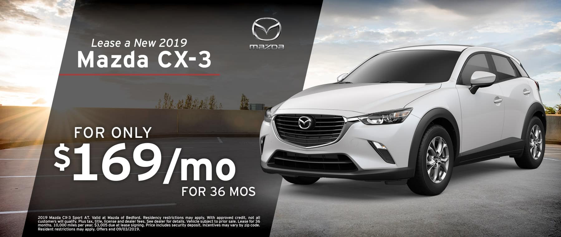 2019 Mazda CX-3 at Mazda of Bedford