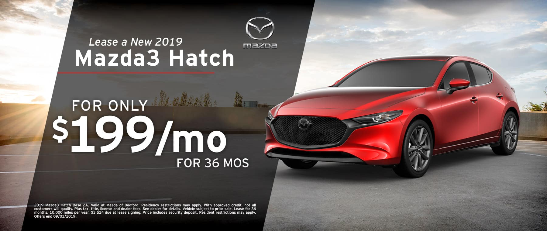 2019 Mazda3 Hatchback at Mazda of Bedford