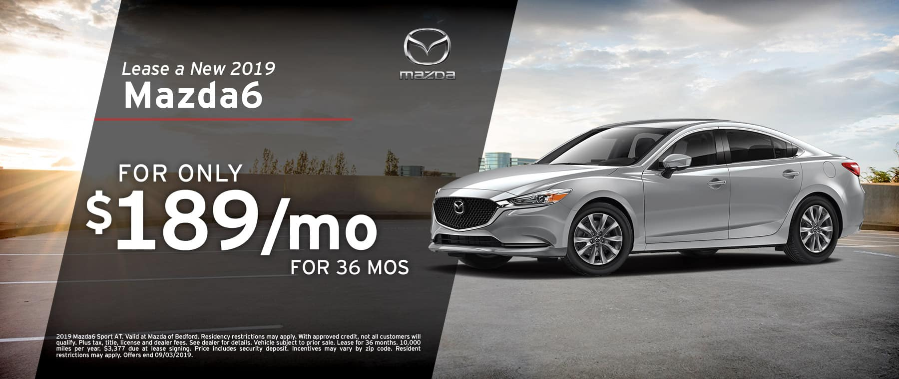 2019 Mazda6 at Mazda of Bedford
