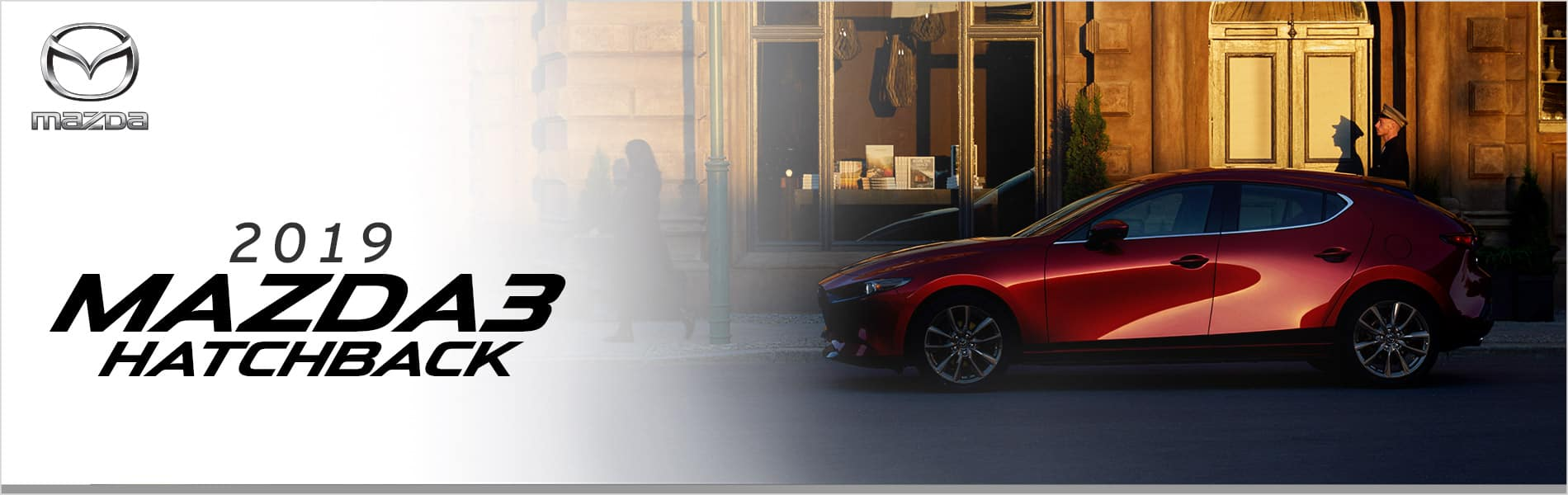 The 2019 Mazda3 Hatchback at Mazda of Bedford in Cleveland, OH