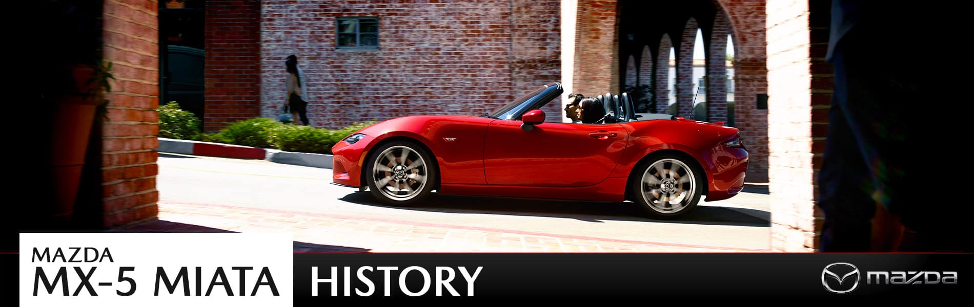 Learn more about the history of the ever-popular Mazda MX-5 Miata, then test drive yours at Mazda of Bedford in Ohio