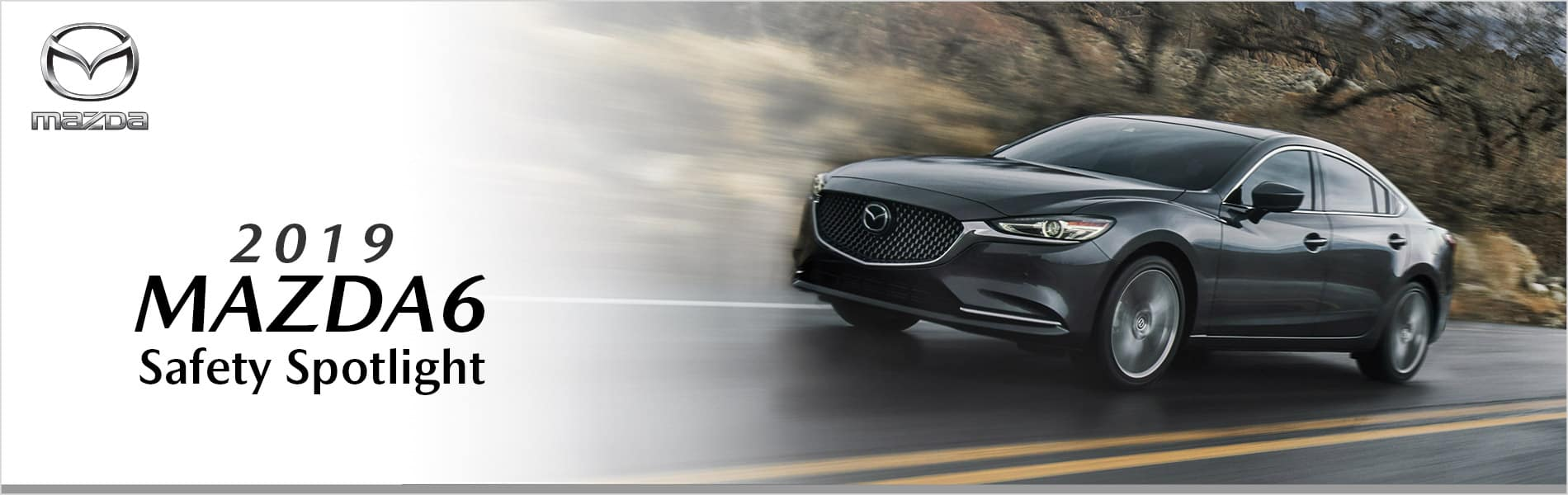 The award-winning safety features on the 2019 Mazda6 at Mazda of Bedford in Ohio