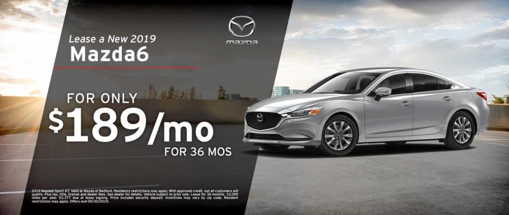 2019 Mazda6 Lease