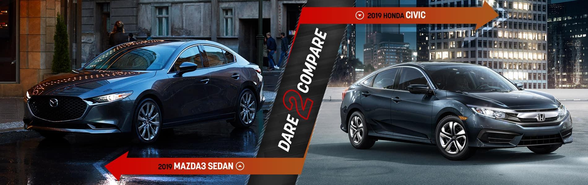 2019 Mazda3 Sedan vs. the Competition - Mazda of Bedford - Bedford, OH