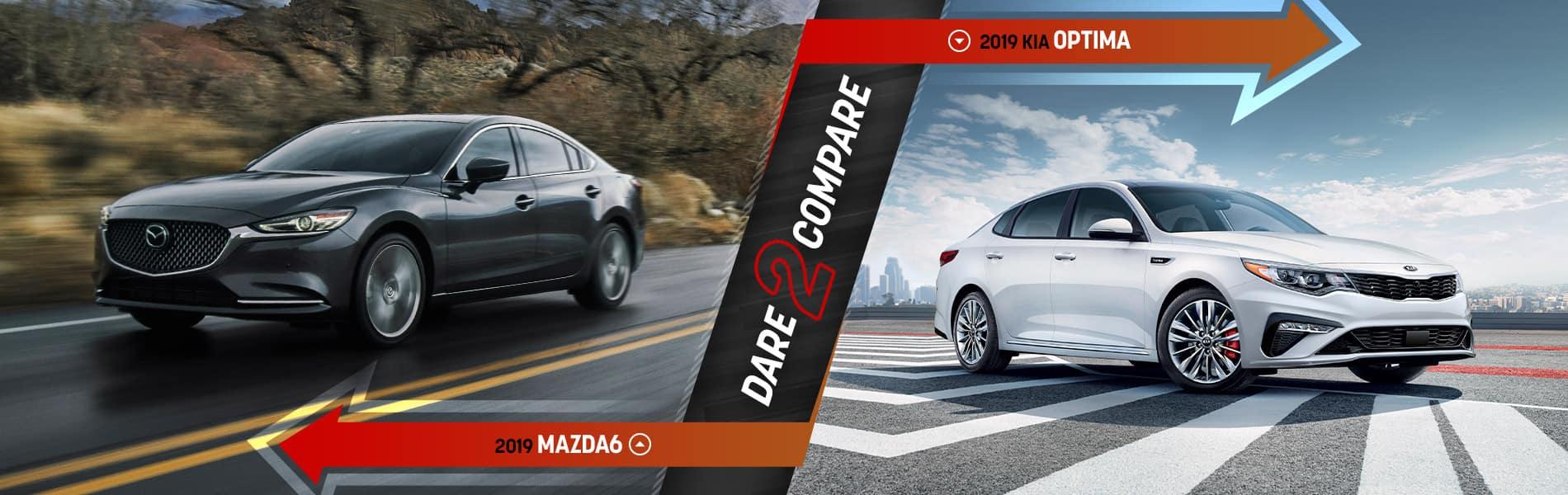 2019 Mazda6 vs Competition - Mazda of Bedford - Bedford, OH