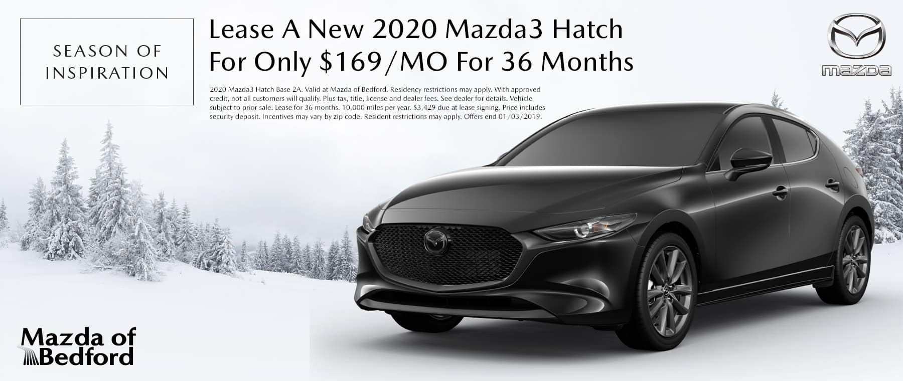 2020 Mazda3 Hatch - Mazda of Bedford - Bedford, OH