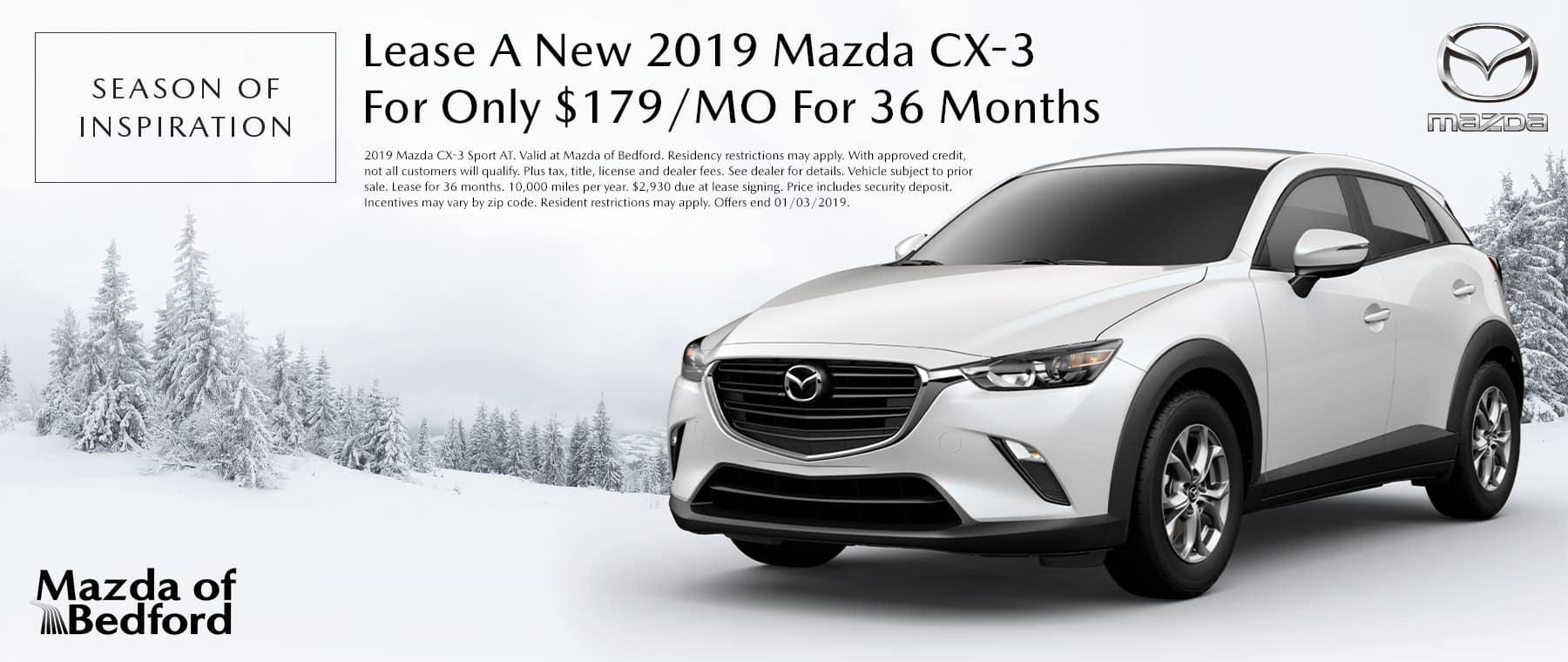 2019 Mazda CX-3 - Mazda of Bedford - Bedford, OH