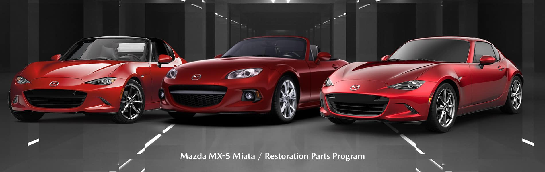 Mazda Miata Restoration Parts Program - Mazda of Bedford - Bedford, OH