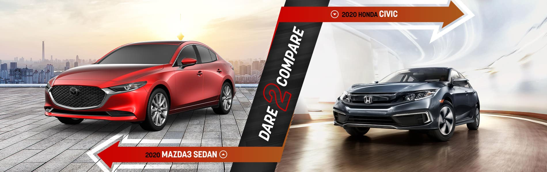 2020 Mazda3 vs. the Competition - Mazda of Bedford - Bedford, OH