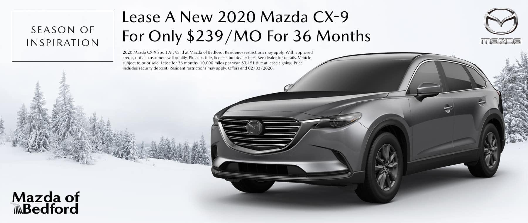 2020 Mazda CX-9 - Mazda of Bedford - Bedford, OH