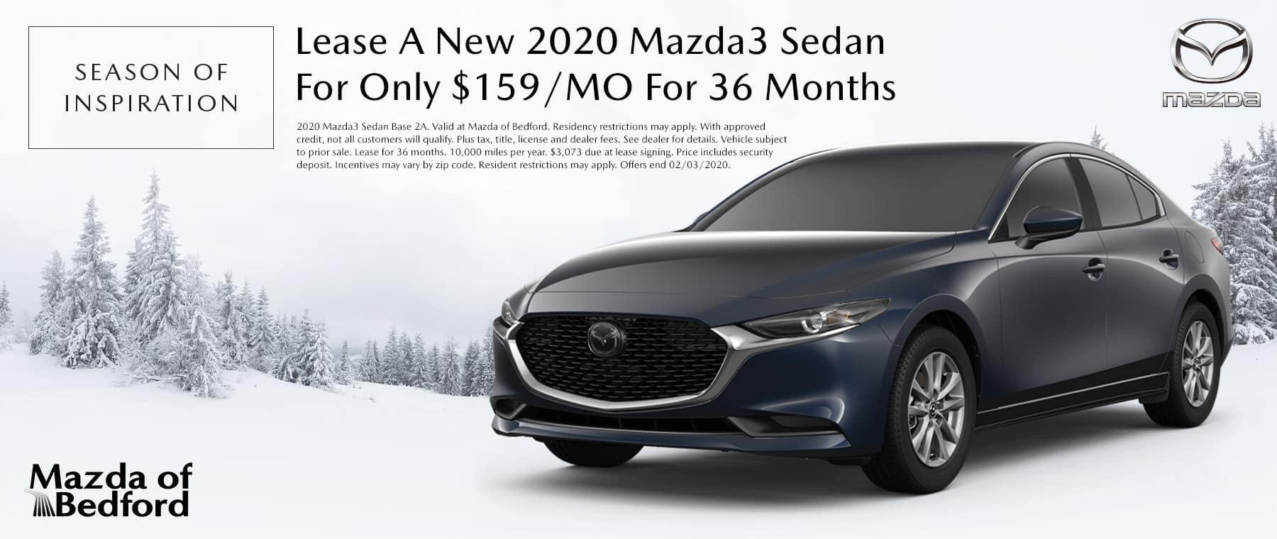 2020 Mazda3 Sedan - Mazda of Bedford - Bedford, OH
