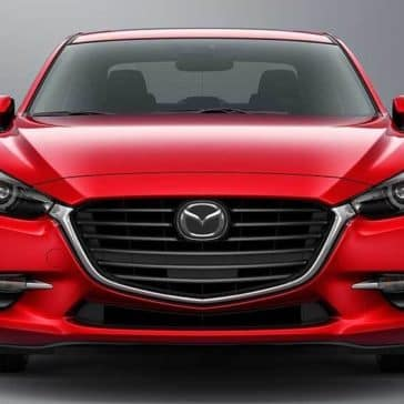 2018 Mazda3 Sedan Front End View