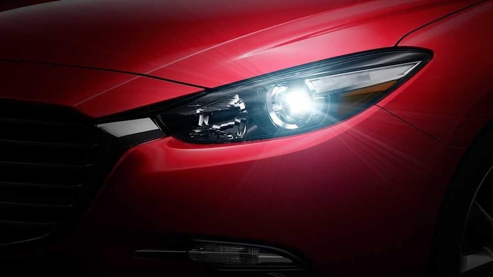 2018 Mazda3 Sedan Headlight