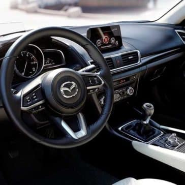 2018 Mazda3 Sedan Interior Technology Features