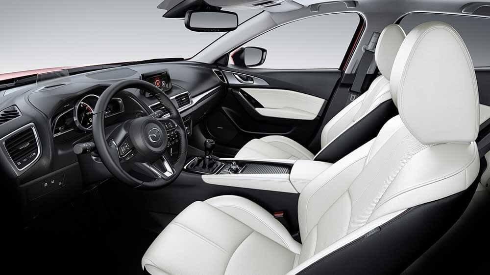 2018 Mazda3 Sedan Interior View