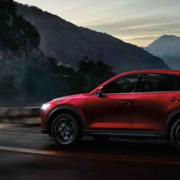 2018 mazda cx 5 small suv driving