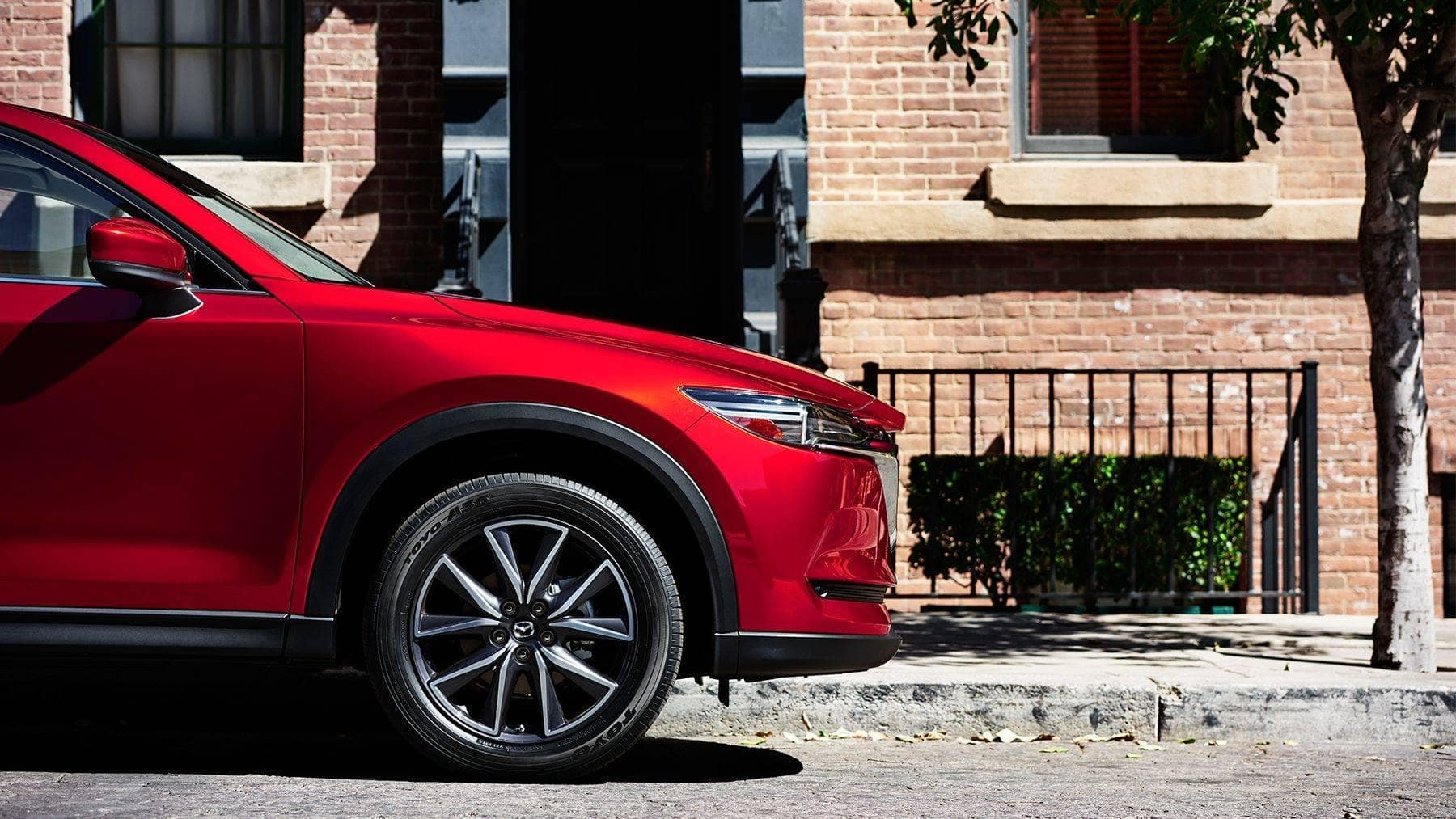 2018 mazda cx 5 side profile street