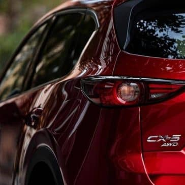 2019 Mazda CX-5 rear light