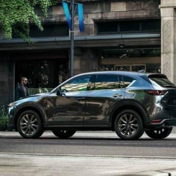 2019 Mazda CX-5 side view