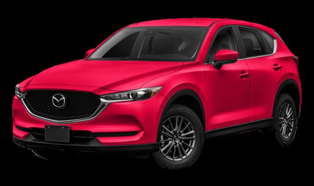 Red Mazda CX-5