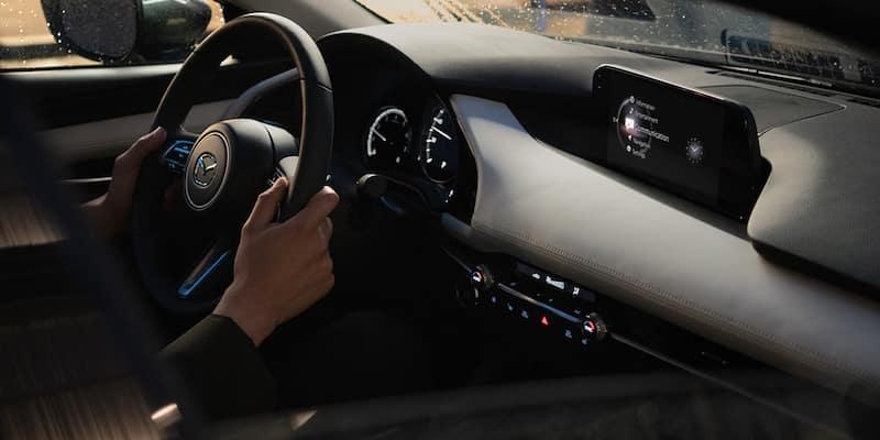 Mazda3 steering wheel