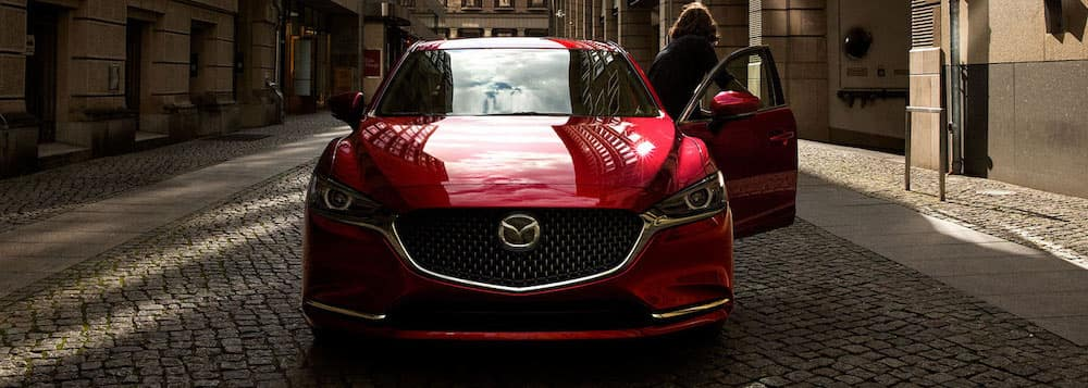 2019 mazda6 red model front view