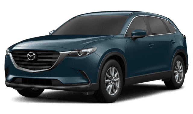 Blue 2019 Mazda CX-9