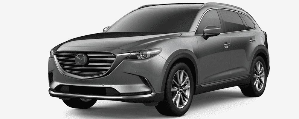 Silver Mazda CX-9