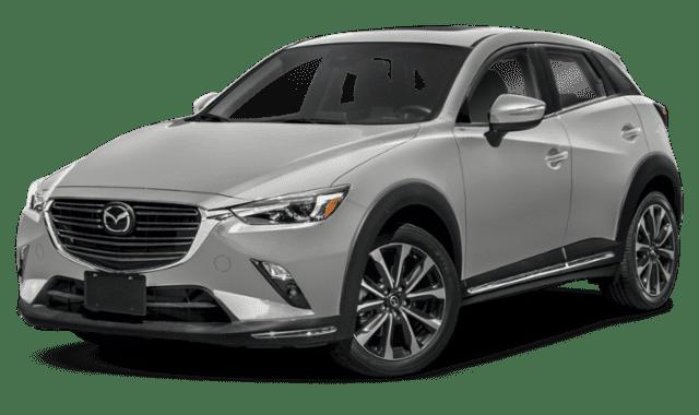 White Mazda CX-3