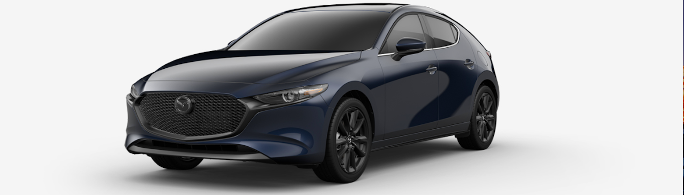 Metallic Navy Mazda3