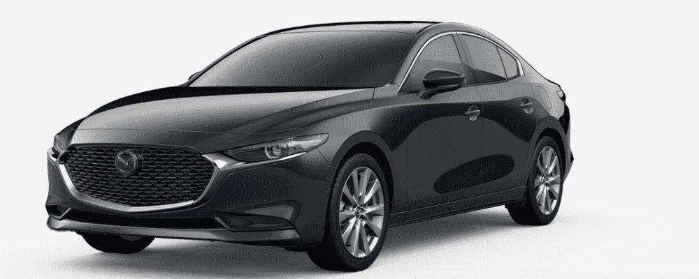 Blue Mazda3