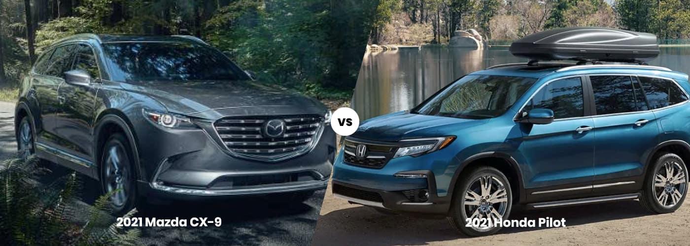 Mazda CX-5 vs. Honda Pilot