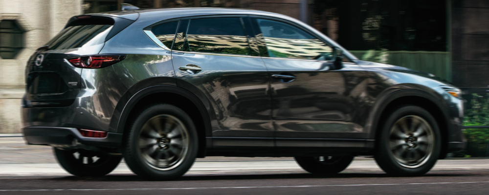 Gray Mazda CX-5