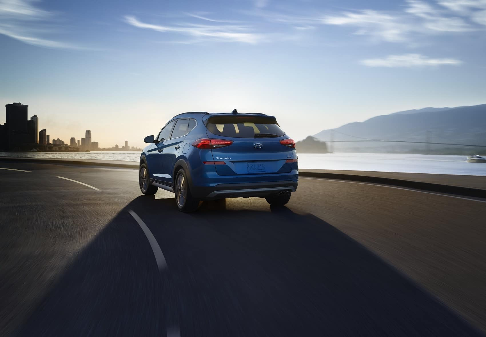 2019 Hyundai Tuscon Blue