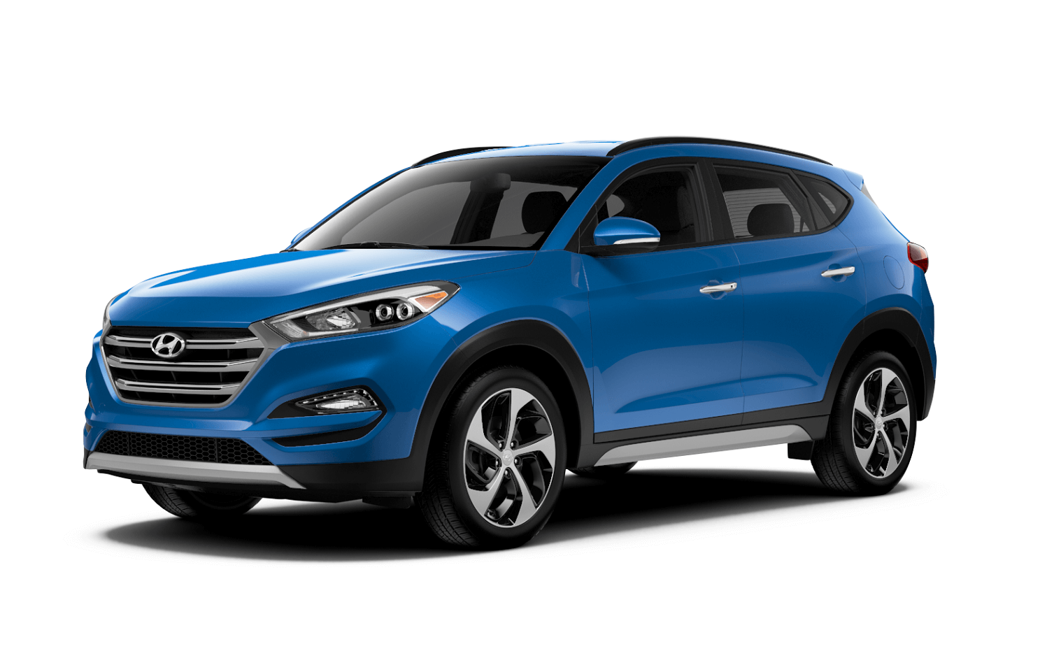 2019 Hyundai Tuscon Limited Caribbean Blue