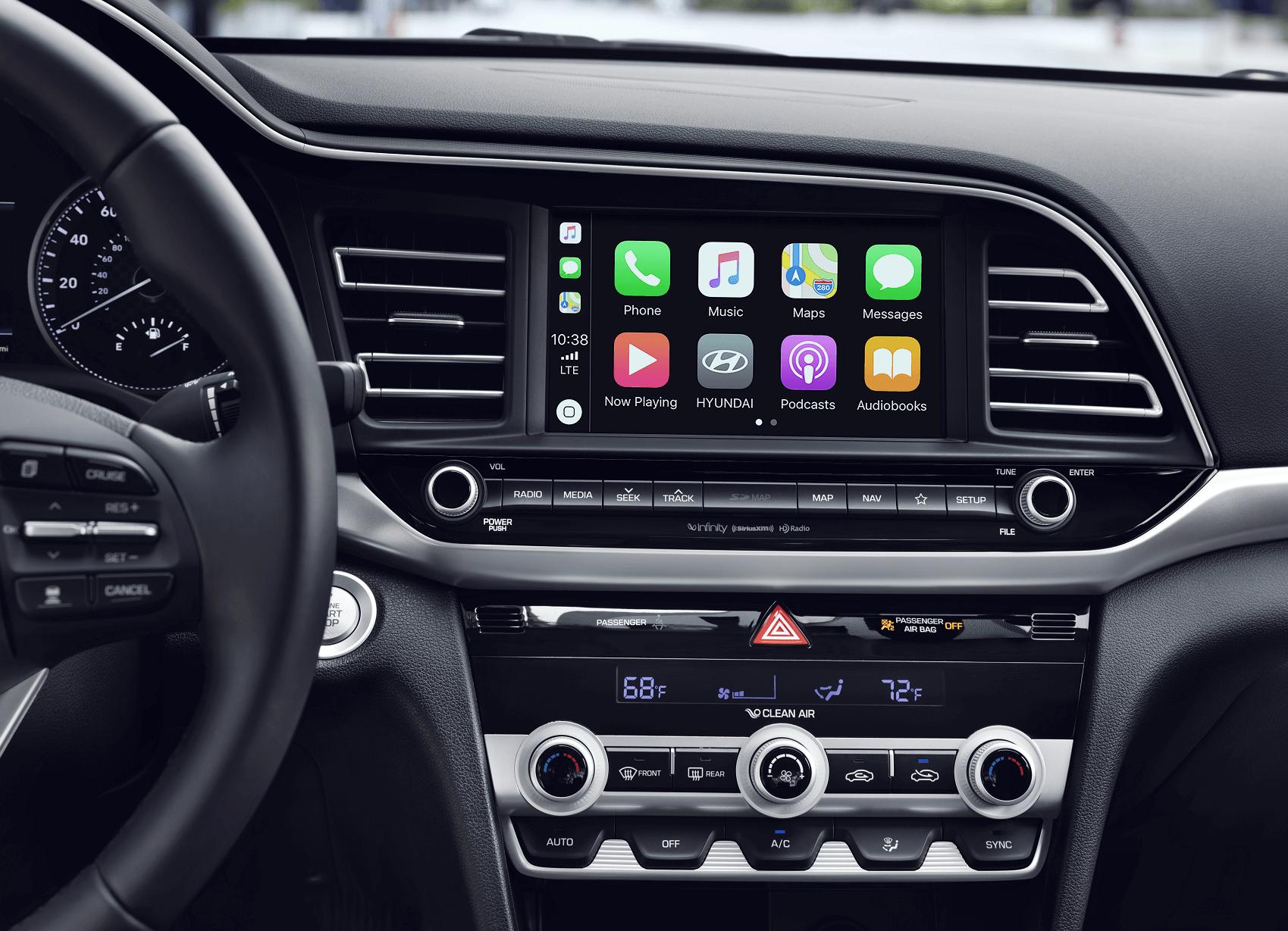 Hyundai Elantra Apple Car Play