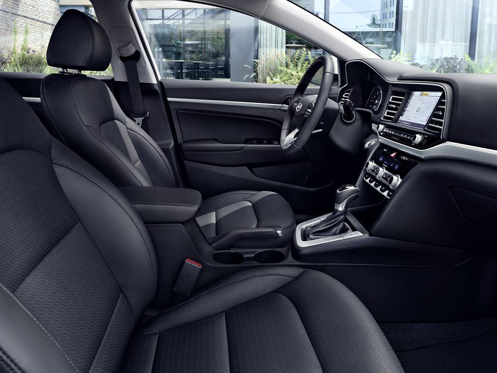 Hyundai Elantra Interior Cabin