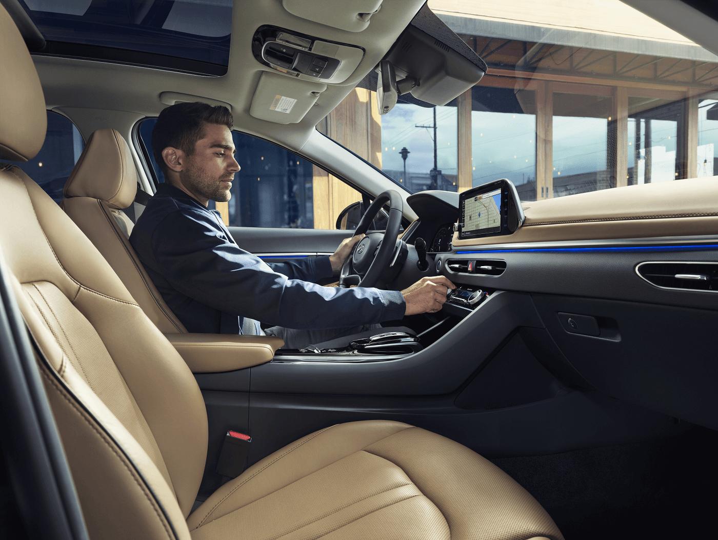 Inside the 2020 Hyundai Sonata
