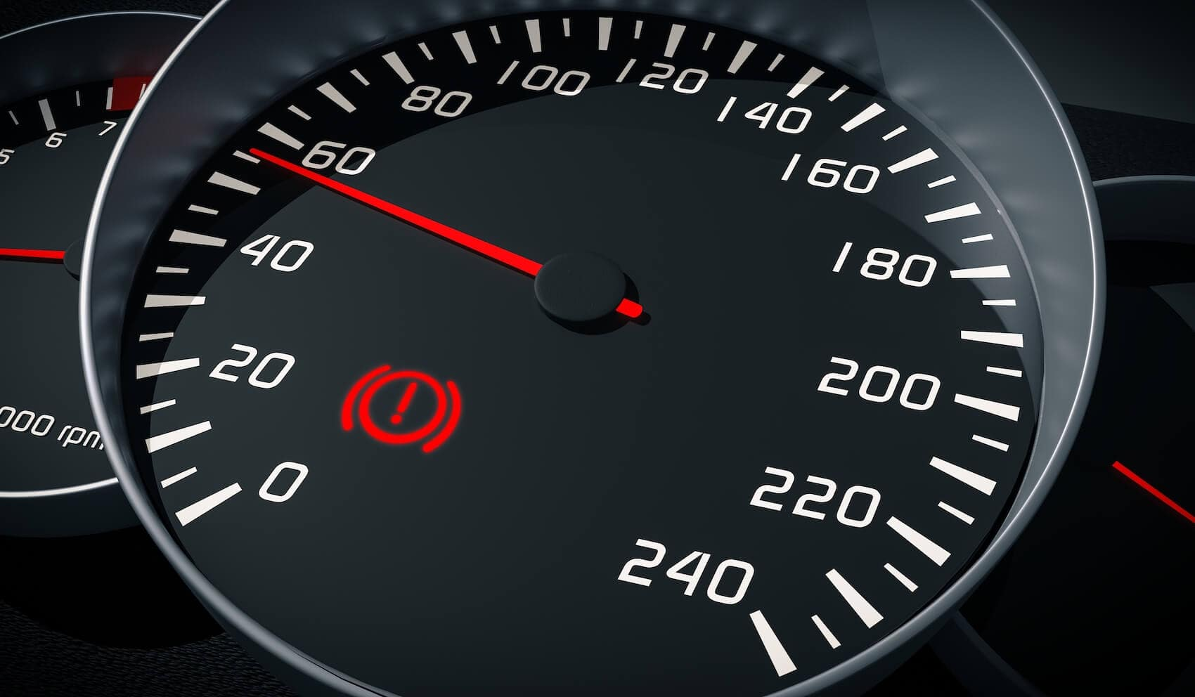 Dashboard Brake Light