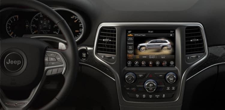 Grand Cherokee Technology
