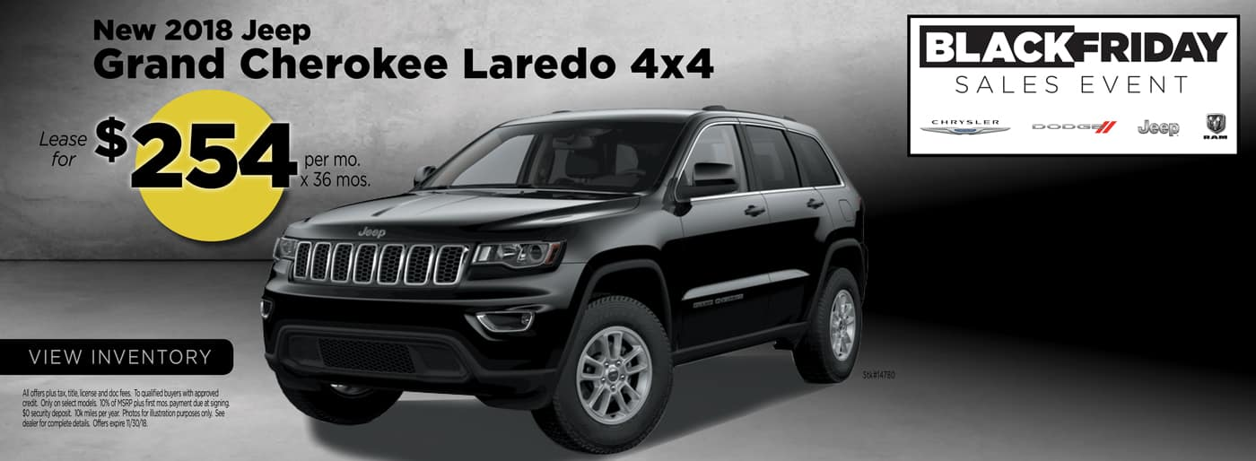 Jeep Grand Cherokee Black Friday