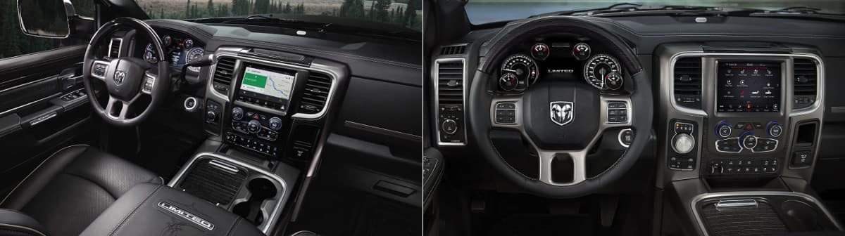 Ram 2500 and Ram 1500 Interior