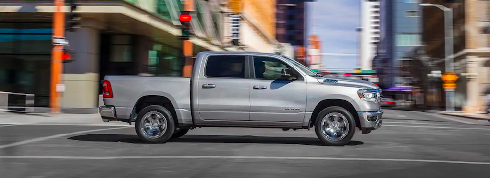 2019 All-New RAM 1500 Driving in the City