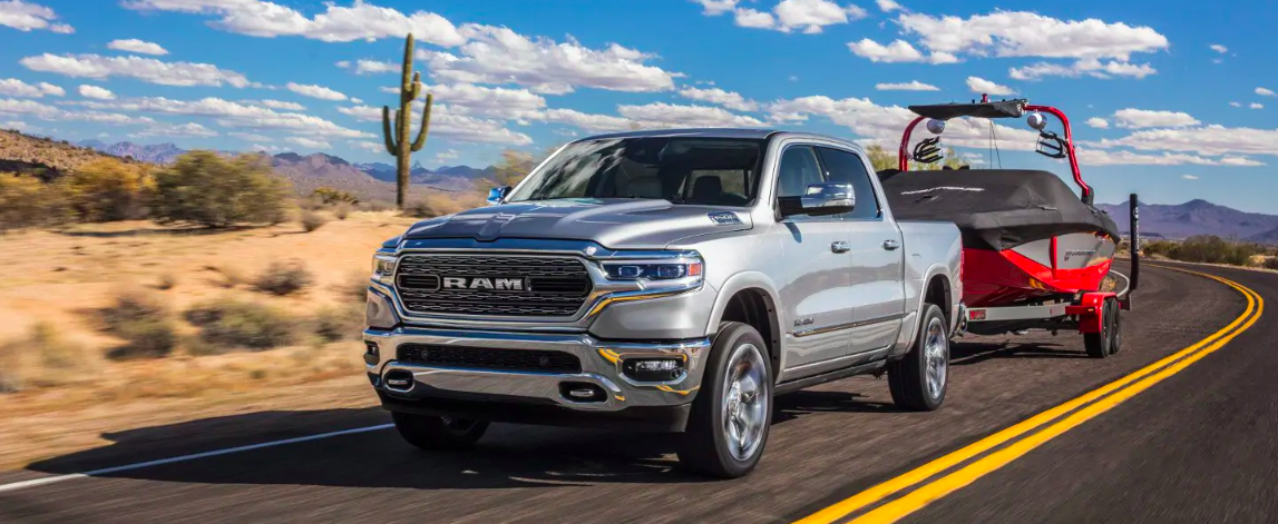 2019 All-New RAM 1500 Towing